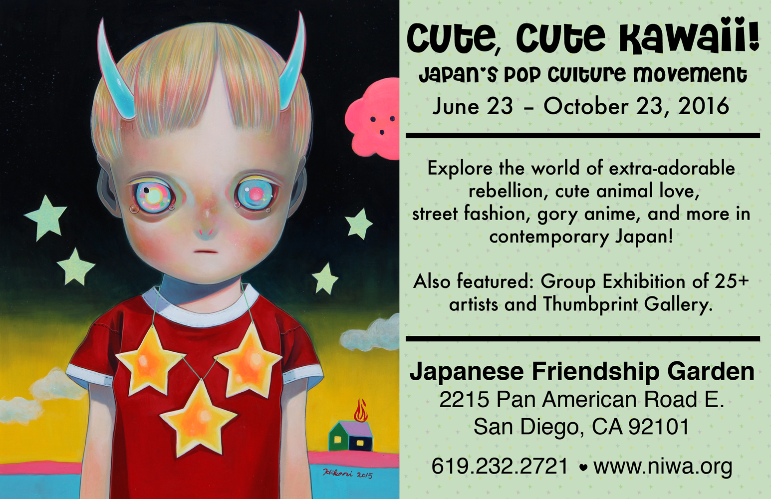 Kawaii Art Show at The Japanese Friendship Garden | Hikari