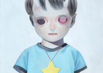 """Children of This Planet #12, Oil on canvas, 21"""" x 18"""", 2013"""