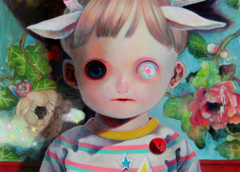 """Children of This Planet #6, Oil on canvas, 21"""" x 18"""", 2012"""