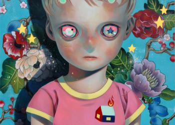 "Child on the Edge, Oil on canvas, 36"" x 29"", 2015"