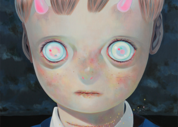 """Whereabouts of God #14, Oil on canvas, 29"""" x 29"""", 2014"""