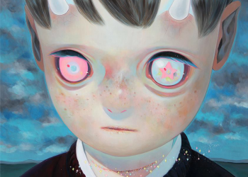 """Whereabouts of God #10, Oil on canvas, 29"""" x 29"""", 2014"""