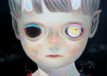 """Whereabouts of God #13, Oil on canvas, 29"""" x 29"""", 2014"""