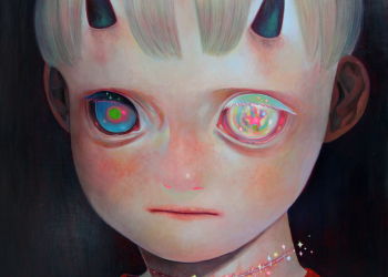 """Whereabouts of God #2, Oil on canvas, 29"""" x 29"""", 2012"""