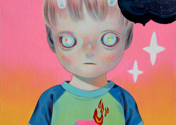 """Children of This Planet #25, Oil on canvas, 21"""" x 18"""", 2014"""